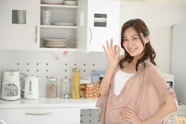 いつもきれいなキッチンへ。掃除がしやすい材質