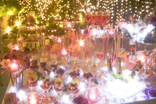 クリスマスホームパーティー☆メイクも特別に♡